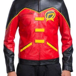 SuperheroRobin Tim Drake Costume Leather Jacket
