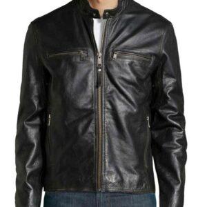 Altered Carbon Joel Kinnaman Black Leather Takeshi Kovacs Biker Jacket