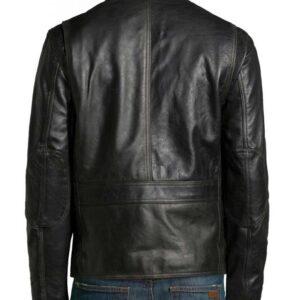 Altered Carbon Joel Kinnaman Black Leather Takeshi Kovacs Jacket