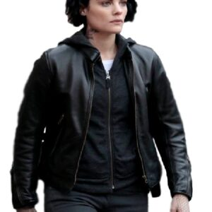 Jaimie Alexander Blindspot Jane Doe Leather Jacket