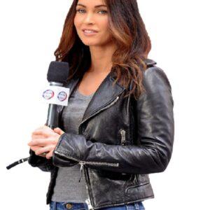 Teenage Mutant Ninja Turtles: Out of the Shadows Megan Fox Black Leather Jacket